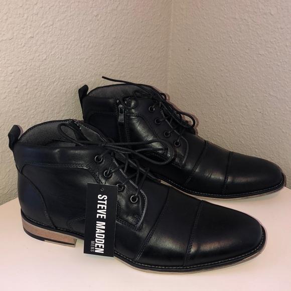 4578edff104 Steve Madden Men's Johnnie Boot Created for MACY's NWT